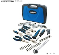 Mastercraft Multi-Purpose Tool Set, 68-Pc (Delivered) 058-9259-6 Coquitlam