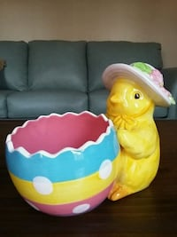 Duck and egg ceramic candy bowl Kingsport, 37664