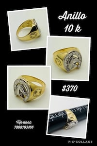 silver and gold ring collage Hialeah, 33015