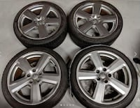 "Audi OEM Alloy Wheels 18x8"" 5x112 West Kelowna"