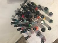 assorted color of nail polish bottles Langley, V2Y 3E7