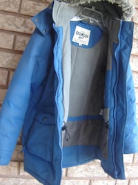 FAIRLY NEW BOYS OSHKOSH WINTER JACKET WITH HOODIE SIZE 12 & USED 3 MONTHS LAST WINTER! Mississauga
