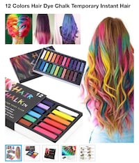 12 COLORS HAIR DYE CHALK,  2356 mi