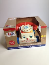 FISHER PRICE Vintage Style Telephone Toy NEW IN BOX Markham, L3P 2T5