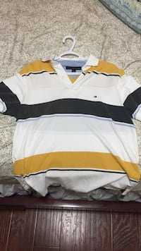 white, brown and black polo shirt Windsor, N8P