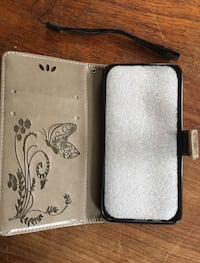 b6bc4f4639a New Butterfly leather wallet case for cell phone for Samsung On5 A7 A3 KB