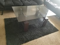 Rectangular clear glass top coffee table Orlando, 32825