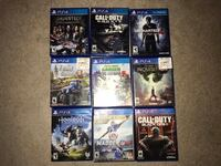 Assorted sony ps4 game case lot West Elizabeth, 15025