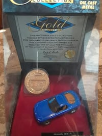 blue coupe die cast metal model Fort Myers, 33901