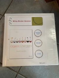 Organic Chemistry Textbook Vaughan, L6A 1N3