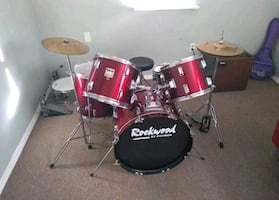 Rockwood kit with extra snare and tama double bass peadles 250 obo..