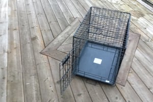 Dog cage, crate, kennel