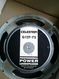 Celestion G12T-75 16 Ohm Speakers MIE. Carvin Cab