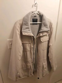 gray zip-up jacket Woodhaven, 48183