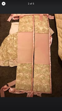 Handmade baby bumpers and crib skirt  Bessemer, 35020