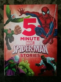 MARVEL SPIDER-MAN MINUTE STORIES ( NEW) Brownsville, N0L 1C0