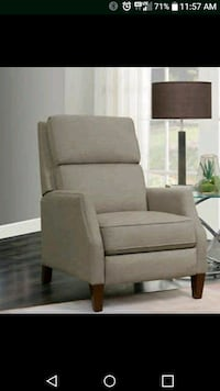 New**Adelle Fabric Pushback Recliner Moreno Valley, 92551