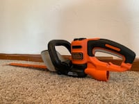 Electric Black+Decker hedge trimmers Pittsburgh, 15216