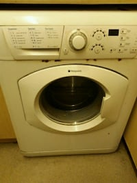 white front-load washing machine Birmingham, B11 2NZ