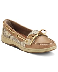 Sperry Top Sider Glitter Gold Angelfish Boat Shoes Kitchener, N2E 4B8