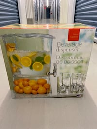 Brand New Drink Dispenser  Burlington