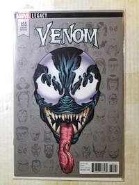 Venom 155 (9.8) NM/MT (headshot) 1st Jennofer Kao