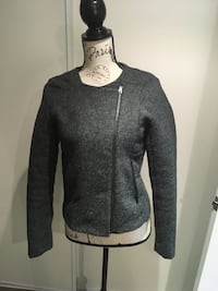 Ladies grey jacket size small  524 km
