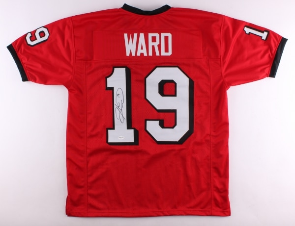 online store 6ade1 8b402 Hines Ward UGA Signed Jerseys (Home & Away)