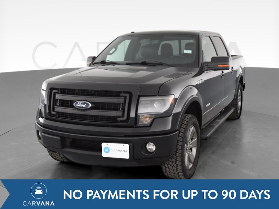 Photo 2013 Ford F150 SuperCrew Cab pickup FX2 Pickup 4D 5 1/2 ft Black