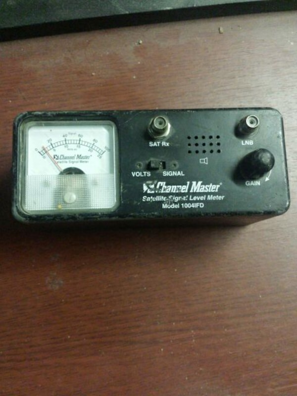 Channel Master satellite signal meter