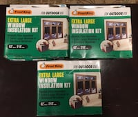 Frost King Extra Large Window Insulation Kit Pikesville, 21208