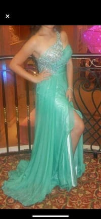 Blue/green evening dress Ajax, L1S 6H3