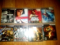 PS3 GAMES MINT CONDITION. $10 per game!