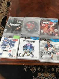 BUNCH OF PS3 GAMES ON SALE Brampton, L6R 2J2