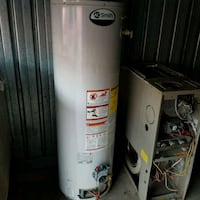Used 40 gallon A.O. smith gas water heater w/ warr 384 mi