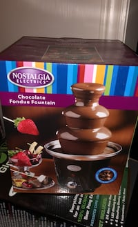 chocolate fondue fountain  Brampton, L6P 3Z9