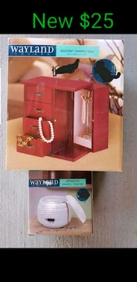New jewelry box and jewelry cleaner