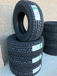 New Kumho RoadVenture LT285/70/17 Load RANGE E Chevy Ford Ram Set of 4 Installed