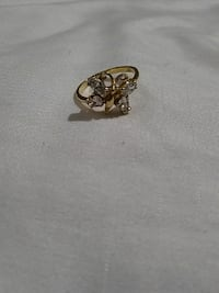gold-colored gemstone encrusted ring Beverly Hills, 34465