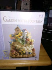 Selling a brand new Garden water fountain
