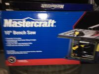 Mastercraft 10 inch saw with Stand