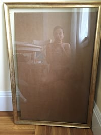 "Brand new large picture frame - approx 36"" length, 23.5"" width, 42"" diagonal"