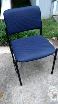 2 blue and black chairs Cary, 27513