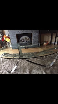 Glass table with lifetime warranty included - brand new  Toronto, M9N