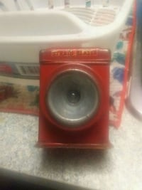 red and black subwoofer speaker Vancouver, V5T 0B5