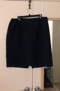 Navy blue tweed pencil skirt - size 16 Arlington, 22201