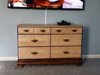 100% Wood Dresser [Extremely sturdy and CLEAN] Hanover, 21076