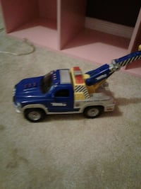 blue, grey, and yellow plastic toy truck Barrie, L4M 5S2