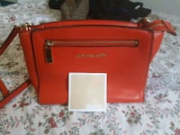 red Michael Kors leather crossbody bag Edmonton, T5C