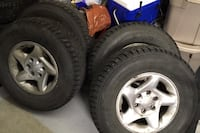Tires on Toyota wheels 265/70/16 Anchorage, 99502